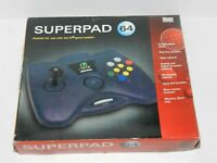 Super Pad Joystick Arcade Controller for Nintendo 64 N64 System Games NEW in Box