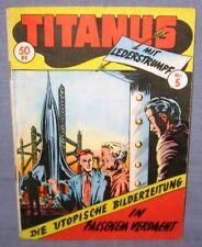 * titanus * cuaderno # 5*in falso sospecha * lavador * 1954*z2 -