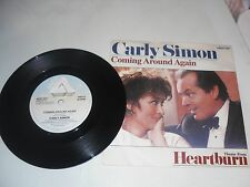 COMING AROUND AGAIN CARLY SIMON 7""