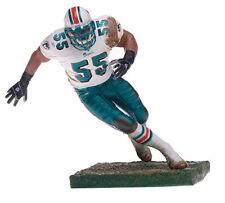 McFARLANE NFL Series # 9_JUNIOR SEAU Chase Variant figure_Miami Dolphins_New_MIP