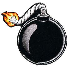 Ball Bomb Patch EMROIDERED IRON ON BIKER MC PATCH