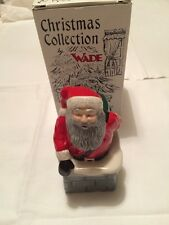 WADE SANTA IN A CHIMNEY LIMITED EDITION NEW