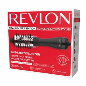 REVLON TITANIUM MAX EDITION Longer Lasting Styles One Step VOLUMIZER