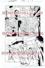 DC DOOM PATROL #7 Page 6 Original Art By Cliff Richards