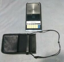 VINTAGE PANASONIC RQ-209DS PORTABLE CASSETTE PLAYER WITH CARRYING CASE ONLY
