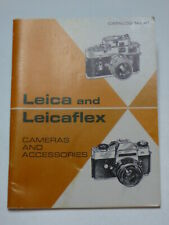LEICA & LEICAFLEX Catalog #41 June 1968 vintage 45 pages very good