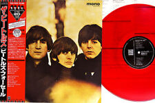 """BEATLES """"For Sale"""" rare 1980's Japan ONLY 20th Anniversary RED MONO Lp w/OBI EX"""
