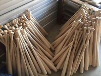 9 Wooden Blem Baseball Bats (FREE SHIPPING!) Craft Quality