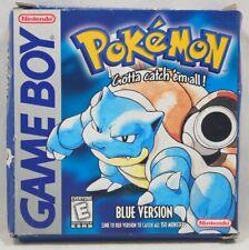 Pokemon Blue Version (Nintendo Game Boy) Authentic CARDBOARD BOX ONLY