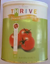Thrive Tomato Dices Freeze Dried #10 Can (Emergency Prepper Food Storage)
