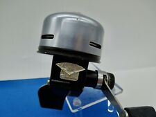 Vintage Rare Large Abu Garcia Abu Matic 270 Silver Gun Metal Blue Fishing Reel