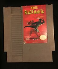 Wrath Of The Black Manta (Nintendo, 1990) NES GAME! Free shipping! Classic cart!