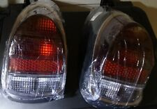 VW BUG Pair 2pcs EURO TAIL LIGHT ASSEMBLY ASSY 68-70 Complete Full Red Beetle