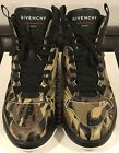 Givenchy Men's Black Green White Wing High Top Camo Sneakers SZ 45 US 12 $1100
