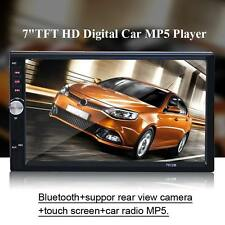 7'' 2 DIN Car Stereo Radio Bluetooth Touch Screen FM MP5 MP3 USB AUX Player LXX8
