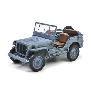 Welly 1:18 Jeep 1941 Willys MB Racing Car Vehicle Diecast Model NEW IN BOX