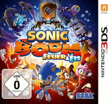 Sonic Boom: Fire & Ice (Nintendo 3DS, 2016)