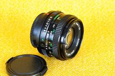 Canon FD 50mm 1:1,8 - puede ser adaptado a Canon EOS, Lumix, Sony NEX