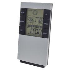 LCD Digital Wetterstation Hydrometer Thermometer Uhr Wecker Luftfeuchtigkeit