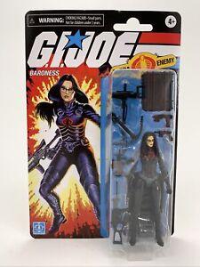 "GI Joe Retro Collection Cobra BARONESS 3.75"" Walmart Action Figure NEW IN BOX!"
