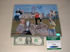 JACK NICKLAUS SIGNED, AUTOGRAPHED ST.ANDREWS 8X10 PHOTO-SGC AUTHENTIC-CERT/CARD
