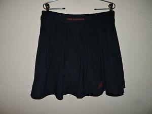 NWT New Balance Blue Skort/Skirt Dry Golf Tennis Women's Sz L Built in Shorts