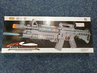 Assault Gun with Light And Sound Toy Gun Kids flash rifle flashing lights Sniper