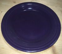 """Fiesta Ware DINNER PLATE - 10 1/2"""" - New Never Used Retired Color - PLUM"""
