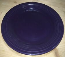 "Fiesta Ware DINNER PLATE - 10 1/2"" - New Never Used Retired Color - PLUM"