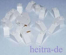 LEGO - 20 x Dachstein 45 Grad 2x1 weiss / White Slope / 3040 NEUWARE