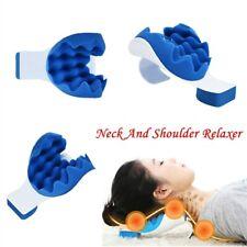 Portable Neck Shoulder Pillow Pain Relief Massage Cushion Support Health Case