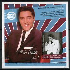 St Vincent & Grenadines 2016 MNH Elvis Presley His Life in Stamps 1v S/S II