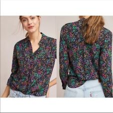 Maeve by Anthropologie Amboseli Floral Blouse Size 14
