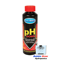 PH DOWN 250ML HY-GEN PH ADJUSTMENT MOVE NON TOXIC HYGEN