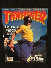 Scott Oster Tommy Guerrero MARCH 1988 Thrasher Skateboard Magazine Vintage 414