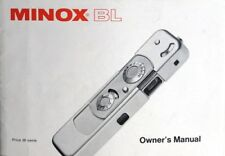 Minox Bl Instruction Manual