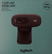 Logitech C270 HD 720P Webcam - BRAND NEW - IN HAND - Ships Fast