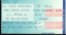Ticket College Basketball UC Irvine 1988 1.3 New Mexico State