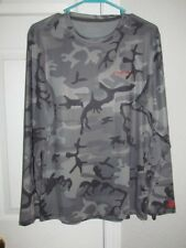 PATAGONIA Men's Forge Gray Camo L/S Shirt Size S NWT