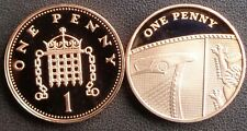 More details for 1971 - 2021 elizabeth ii 1p penny decimal proof coin - choose your year