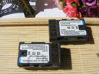 2X Replacement Battery for JVC BN-VF808 BN-VF808U GZ-MG155 GR-D870 Camcorder
