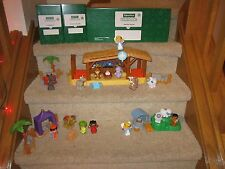 Fisher Price Little People Christmas Nativity 2013 Manger Shepherds 100% NEW Toy