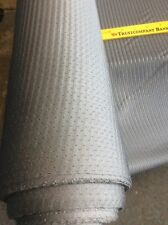 """Lycra Spandex Athletic Sports Mesh fabric in color Silver 70"""" wide"""