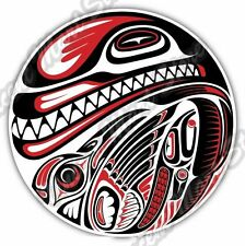 Haida Native  American Indian Aztec Car Bumper Window Vinyl Sticker Decal 4.6""