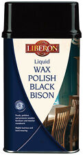 LIBERON 500ml LIQUID WAX POLISH FOR FURNITURE AND INTERIOR WOOD COLOUR CHOICE