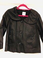 Ladies MOSCHINO Black Jacket Size 14 VGC