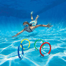 4PCS OutdoorDive Ring Swimming Pool Toy For Kid Diving Pool Toy Rings R L O