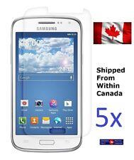 Five 5x Samsung Galaxy Core LTE Screen Protector SM-G386W SM-G386F Zoomer Canada