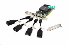 PNY Nvidia NVS510 2GB  DDR3 PCI-E 3.0 Video Graphics Card 4 Monitors support