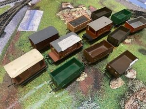 Assortment of 12 Trucks (Hornby, Thomas, Tri-Ang etc)